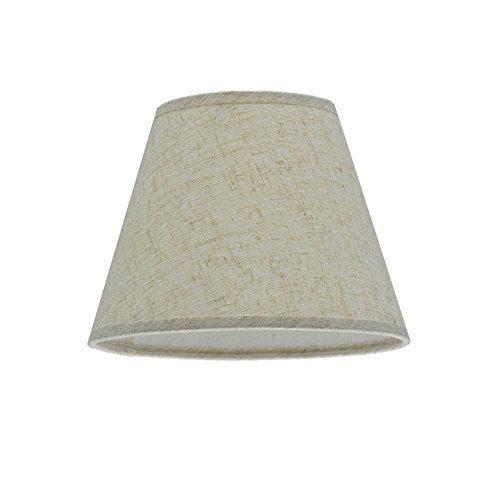 Aspen-Creative-32032-Hardback-Spider-Lamp-Shade-Flaxen-0-0
