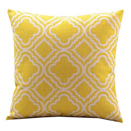 Createforlife-Cotton-Linen-Decorative-Throw-Pillow-Case-Cushion-Cover-Argyle-0
