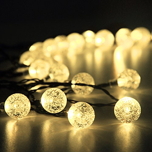 Innoo Tech Solar Outdoor String Lights 197 Ft  ...